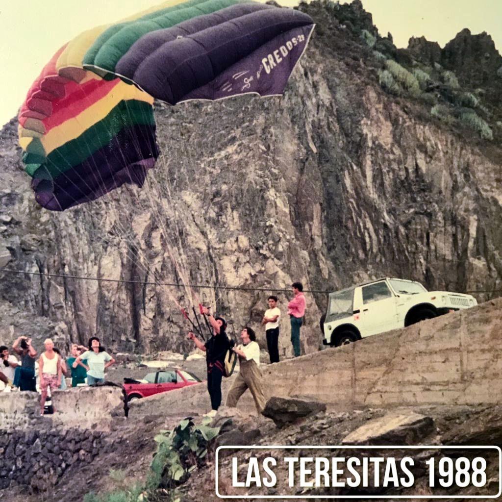 Parapente Canarias 1988