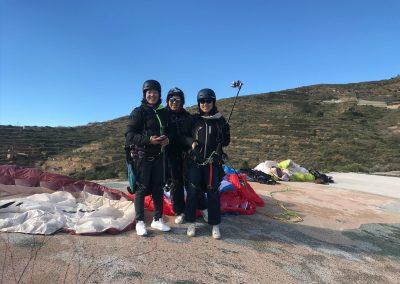 Vuelo con Parapente Canarias en la zona sur de la isla de Tenerife
