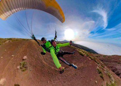 Vuelo con Parapente Canarias en el Teide en Tenerife