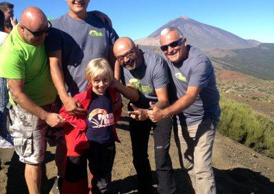 Vuelo con Parapente Canarias al Teide en Tenerife