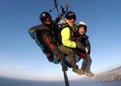 Vuelo en Triplaza con Parapente Canarias en Tenerife